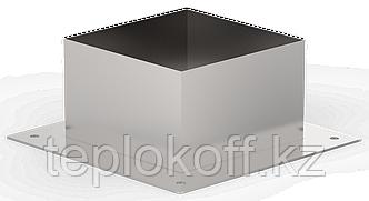 Декоративный ППУ КвХ, ф 120, AISI 439/Оц, 0,5мм/0,5мм