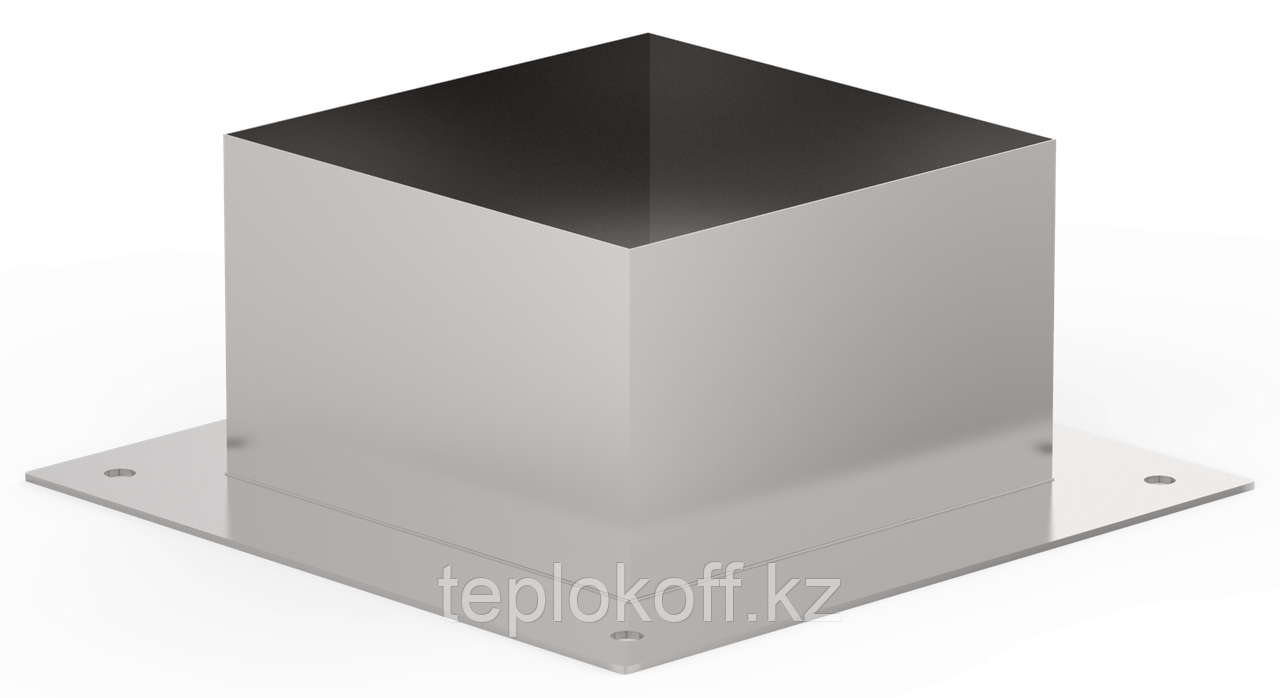 Декоративный ППУ КвХ, ф 200, AISI 439/Оц, 0,5мм/0,5мм