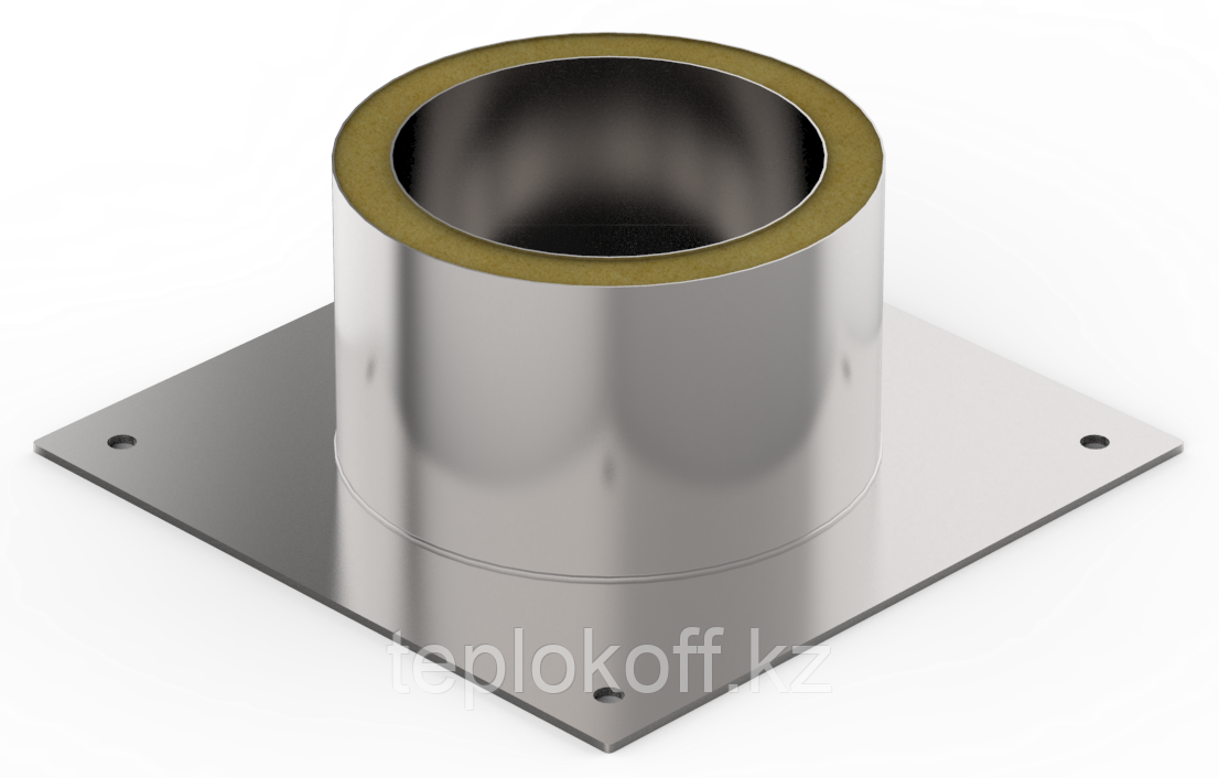 Декоративный ППУ КрТ, ф 180, AISI 439/Оц, 0,5мм/0,5мм