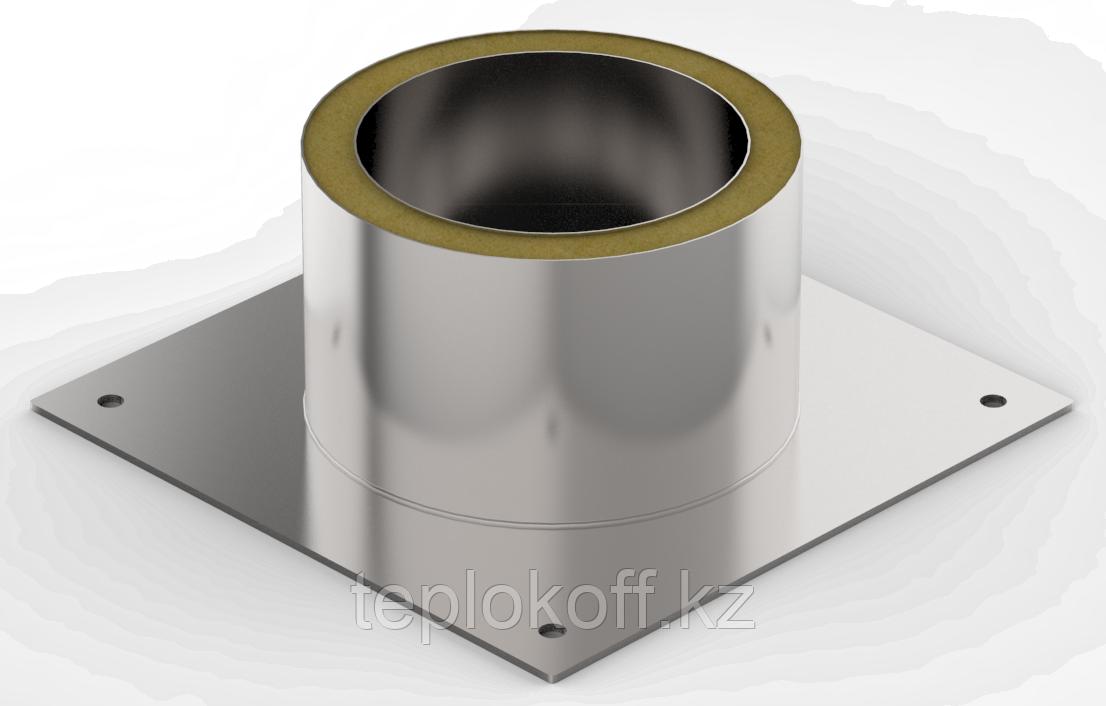 Декоративный ППУ КрТ, ф 140, AISI 439/Оц, 0,5мм/0,5мм