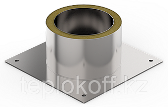 Декоративный ППУ КрТ, ф 130, AISI 439/Оц, 0,5мм/0,5мм
