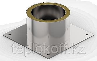 Декоративный ППУ КрТ, ф 160, AISI 439/Оц, 0,5мм/0,5мм