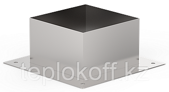 Декоративный ППУ КвХ, ф 180, AISI 439/Оц, 0,5мм/0,5мм