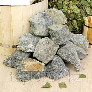 Камень для бани Габбро-диабаз, 20 кг, мешок