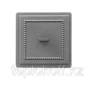 Дверца Везувий чугунная прочистная, (237), 170x170 мм  некрашеная