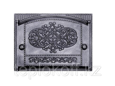 Дверца чугунная топочная ДТК-2, 450*325 мм, Балезино