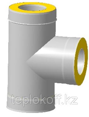 Сэндвич-тройник 90*, ф 200х280 нерж/оц, 0,5 мм/0,5 мм, (К)