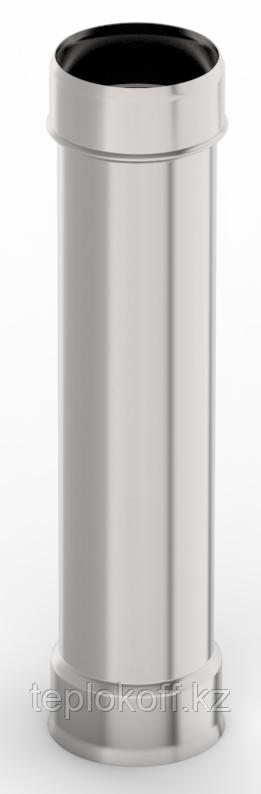 Труба ф 150, 1,0м, нержавейка, 0,5мм