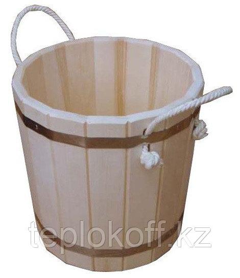 Запарник банный 15 л без крышки