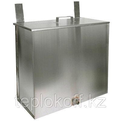 Бак навесной нержавеющий (AISI 430/1,2-1,5 мм) 60л