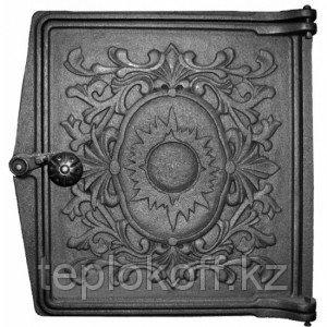 Дверца чугунная топочная ДТ-4, 291*296 мм, Рубцовск