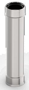 Труба ф 160, 1,0м, нержавейка, 0,5мм