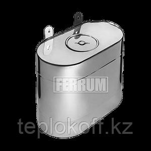 Бак Феррум Комфорт выносной, 60 л, нержавеющий (AISI 201/1,0 мм), вертикальный эллипс
