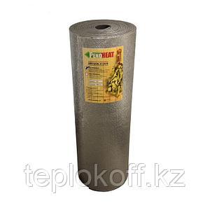 Теплоизоляция для бань и саун Пенохит 02мм, 1,2*12,5 м.п. (15 м.кв.), фольга, серый