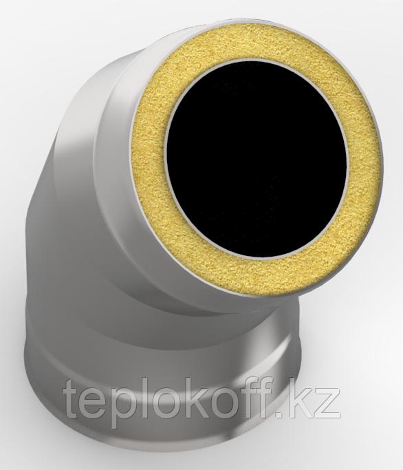 Сэндвич-отвод 135*, ф 120х200 нерж/оц, 0,5мм/0,5мм, (К)