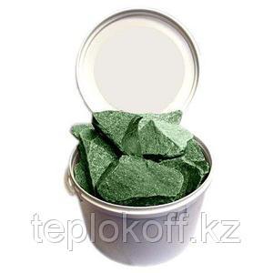 Камень для бани Жадеит колотый, 20 кг, мелкий