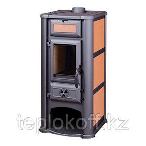Печь-камин Tim Sistem Lederata оранжевый