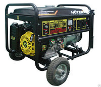 Электрогенератор Huter DY8000LX с колёсами
