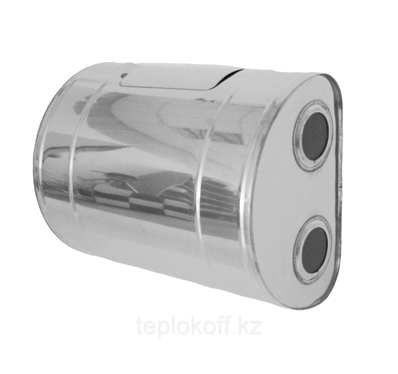 """Бак для теплообменника """"Тритон"""",  70л, AISI 439/1,0мм, Г/Прав, (штуцер 3/4"""")"""