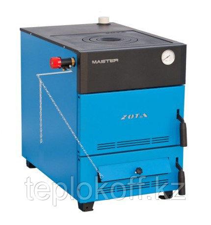 Котел твердотопливный Zota Master 18 кВт с плитой