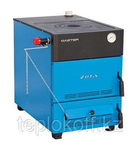 Котел твердотопливный Zota Master 12 кВт с плитой