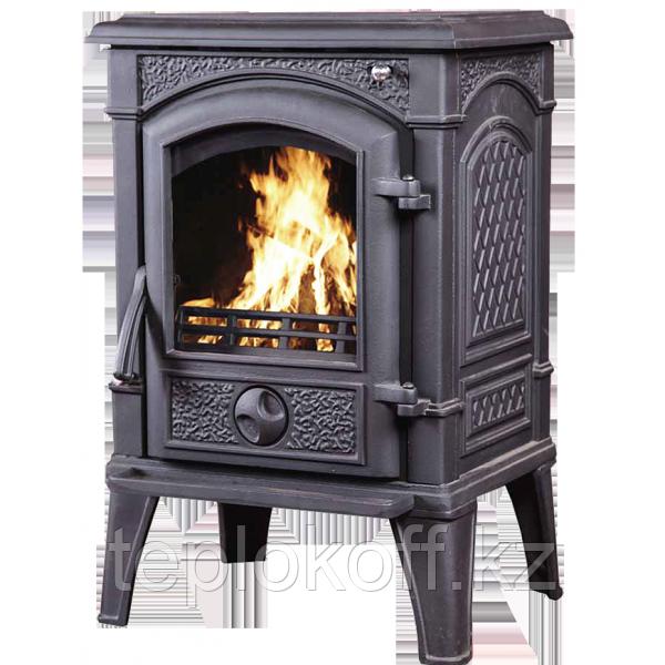 Печь - камин Sven black чугунная
