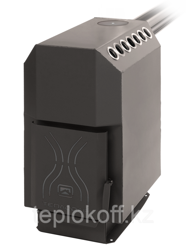 Печь отопительная Теплодар Топ модель 140 стальная дверка