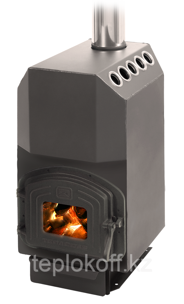 Печь отопительная Теплодар Топ модель 140 чугунная дверка