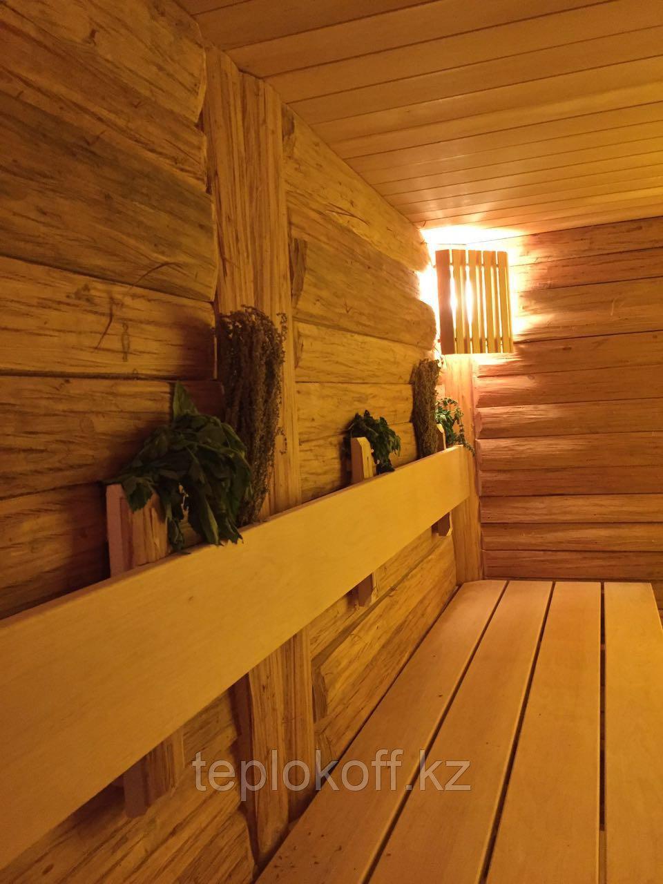 Блок-хаус липа с лыком камерной сушки  «Стиль Леший»
