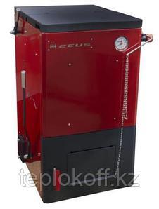 Котел твердотопливный полуавтоматический Zeus, 12 кВт (ТЭНБ 6кВт/220), Термокрафт