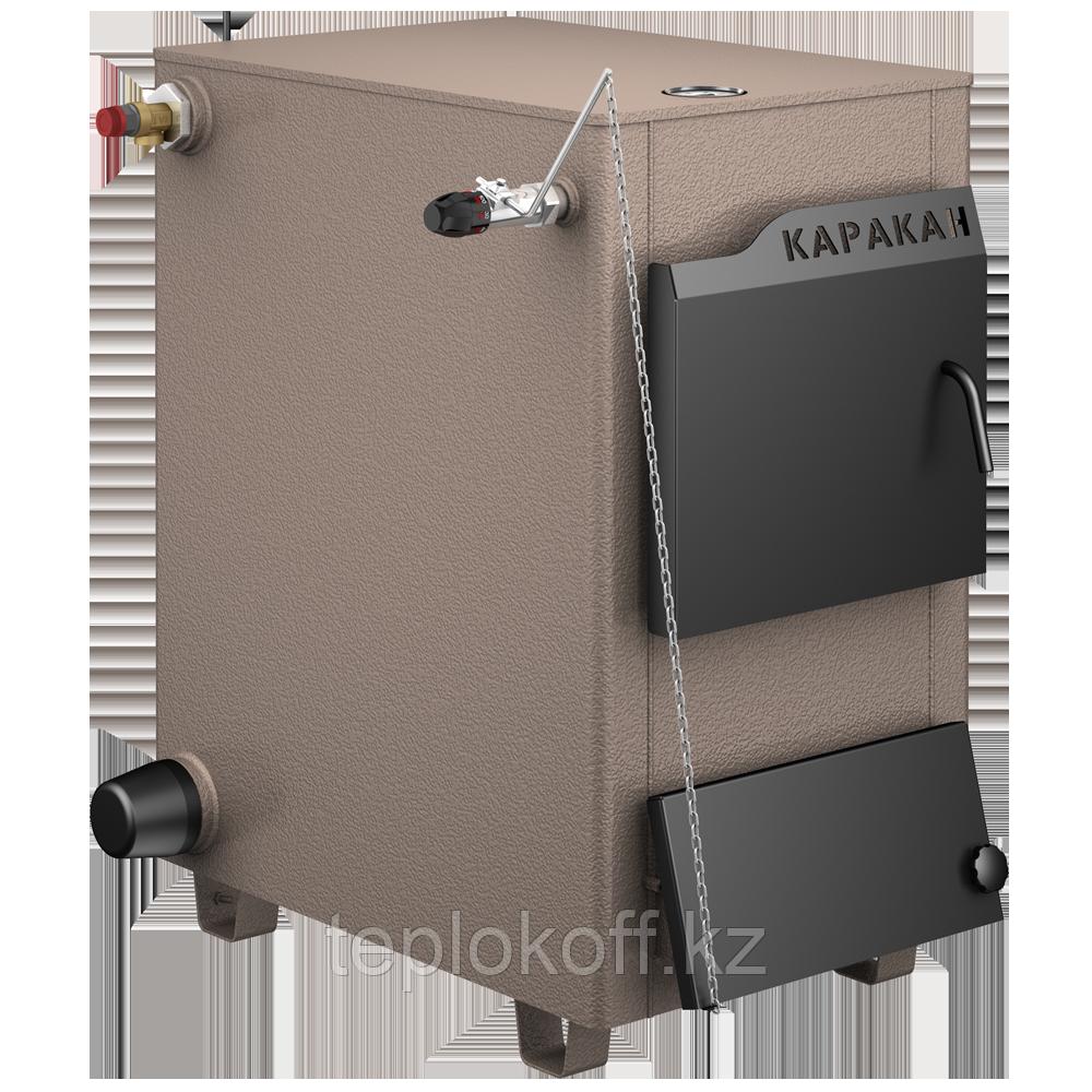 Котел твердотопливный Каракан 20ТЭГВ-3 комбинированный под газ. горелку 2-й контурный без ТЭНБ