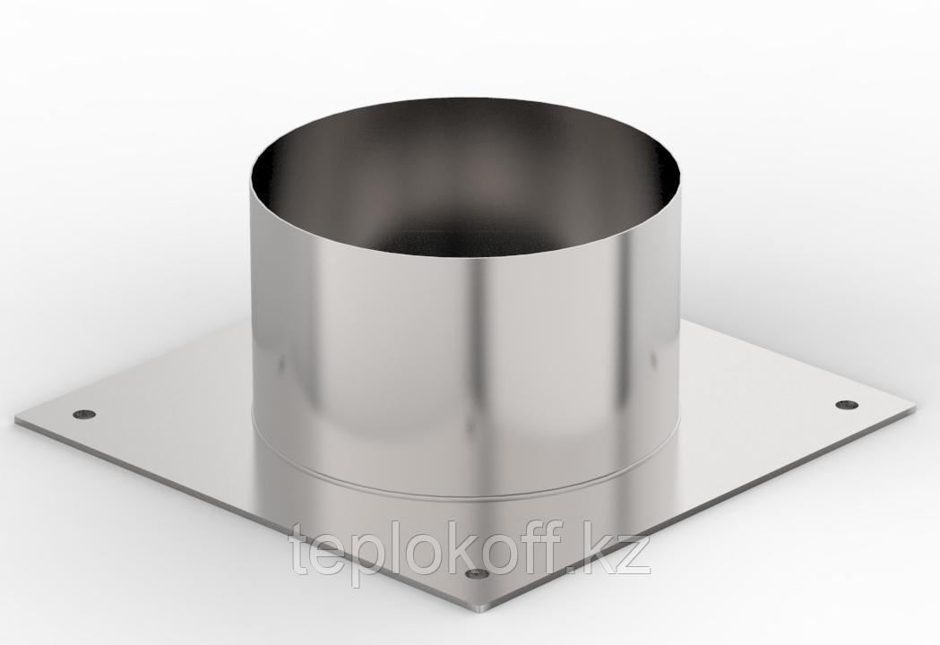 Декоративный ППУ КрХ, ф 160, AISI 439/Оц, 0,5мм/0,5мм