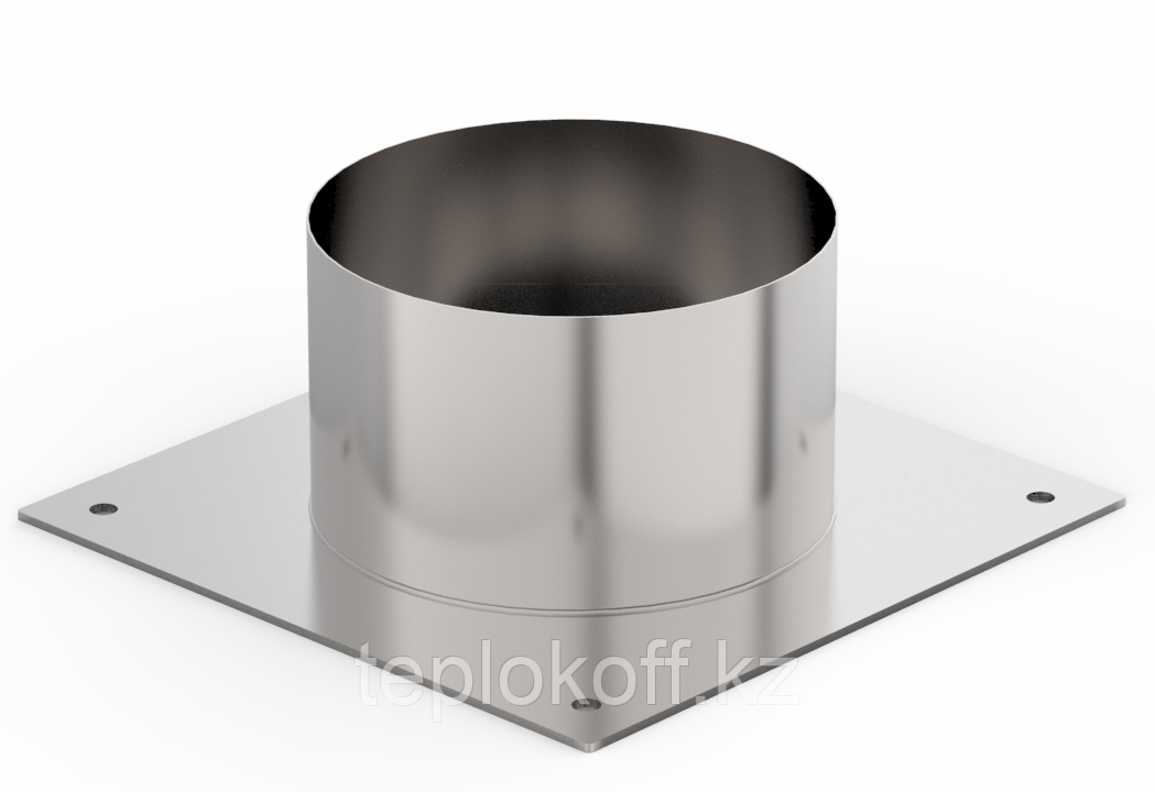 Декоративный ППУ КрХ, ф 140, AISI 439/Оц, 0,5мм/0,5мм