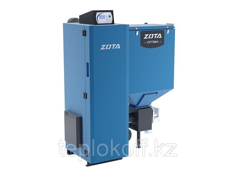 Котел твердотопливный автоматический Zota Optima 20 кВт