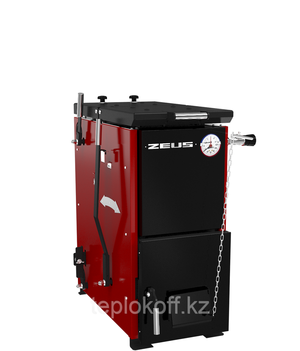 Котел твердотопливный полуавтоматический ZEUS («Зевс») 20 кВт