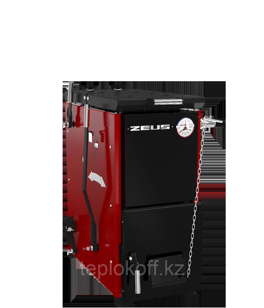 Котел твердотопливный полуавтоматический ZEUS («Зевс») 24 кВт