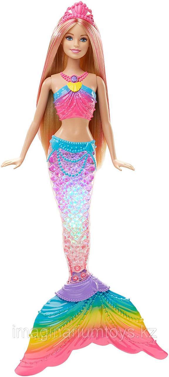 Кукла Barbie Барби Русалочка со светом