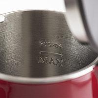 Чайник с двойными стенками GALAXY GL0301 (красный), фото 5