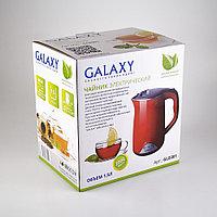 Чайник с двойными стенками GALAXY GL0301 (красный), фото 7