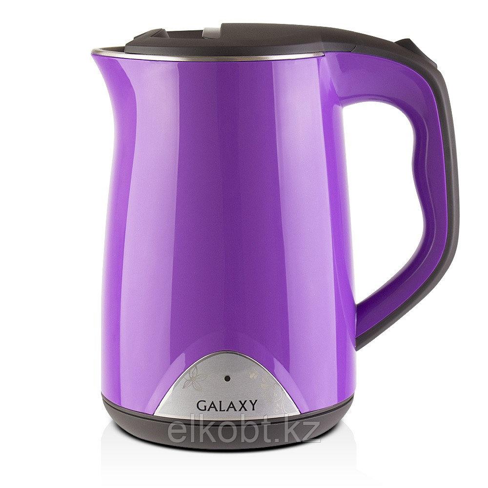 Чайник с двойными стенками GALAXY GL0301 (фиолетовый)