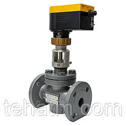 Клапан регулирующий с электроприводом КР-1