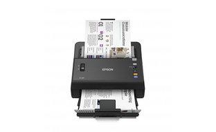 Сканер Epson WorkForce DS-860N, A4, 600x600dpi, 48-bit, 65ppm, 6000 скан/день, ADF, LAN, USB 2.0
