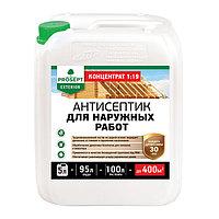 Пропитка антисептик для наружных работ 002-5 EXTERIOR(ЭКСТЕРИОР) -, концентрат (1:19), 5 л.