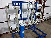 Станция обессоливания, 72 м3 чистой воды в сутки
