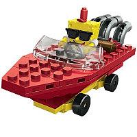 Mega Bloks конструктор SpongeBob SquarePants Гонщики на лодках (в тубах), в ассортименте