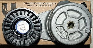 Привод водяного насоса, вентилятора, ролики, натяжители, ремни, помпы Сummins ISF 3.8L