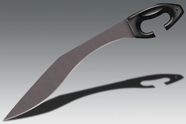 Нож нескладной Cold Steel Kopis Machete, Общая длина: 661 мм, Толщина лезвия: 2 мм, Длина клинка: 483 мм, Мате