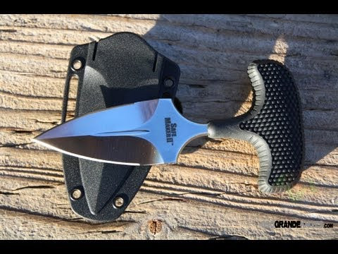 Нож кулачный Cold Steel Safe Maker II, Общая длина: 90 мм мм, Длина клинка: 79 мм, Материал клинка: Japanese A