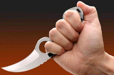 Нож фиксированный Cold Steel Double Agent I, Общая длина: 200 мм мм, Толщина лезвия: 2,3, Длина клинка: 76 мм,