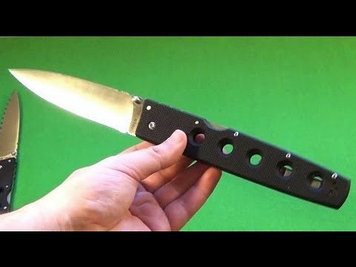 Нож складной Cold Steel Hold Out I, Общая длина: 337 мм\185 мм мм, Длина клинка: 152 мм, Материал клинка: Carp